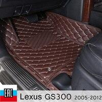 car floor Mats For Lexus GS300 2005 2012 S190 car mats special order car accessories floor mat car decoration