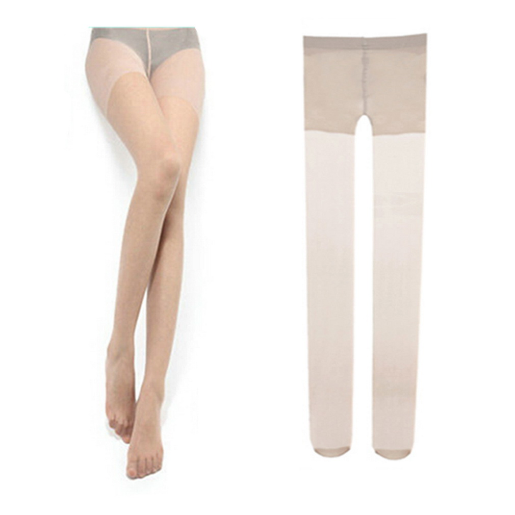 Ultra Thin Sexy  Soft Ladies Women Transparent Tights Pantyhose Color Stockings Nylon Good Elasticity Durable Wear-resisting