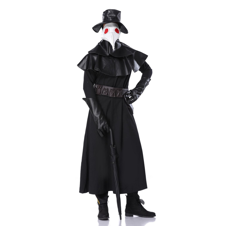 Assassins Creed Cospaly Dr Beulenpest Steampunk Plague Doctor Cos