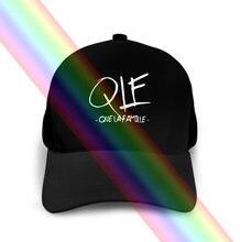 Chapeau en T personnalisé, Qlf Que La Famille, Chanson musicale, N007
