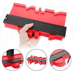 12/14/25/50 cm contorno calibre perfil plástico cópia contorno calibres padrão madeira marcação ferramenta tiling laminado telhas ferramentas