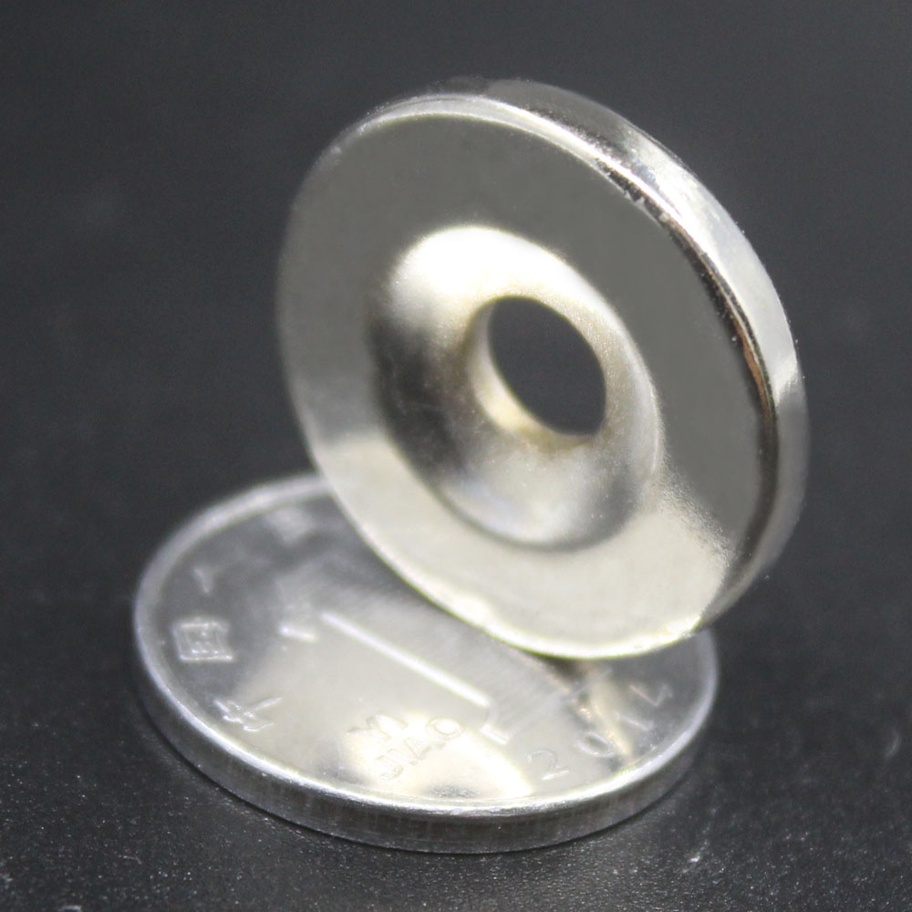 5/10/50 шт неодимовый магнит 20 мм x 3 мм отверстие 5 мм N35 NdFeB Круглый супер мощный сильный постоянный магнитный диск imanes 20x3Hole 5