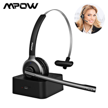 Mpow M5 Pro Wireless Headphones Bluetooth Over Ear Krystal Clear Noise Cancelling Headphone With Mic Charging Base For PC Laptop песочный фильтрующий насос intex krystal clear 8000л ч 26648