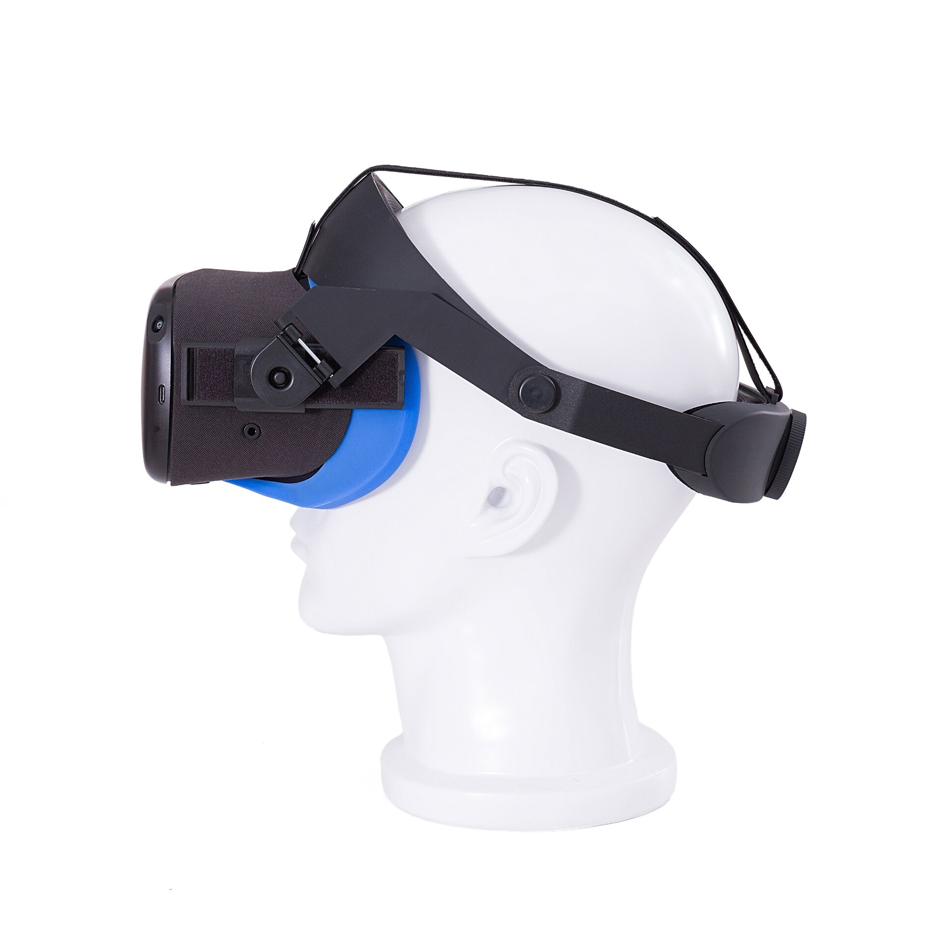 GOMRVR oculus quest halo strap solves the pressure balance of facecomfortable adjustable ergonomic virtual reality accessories