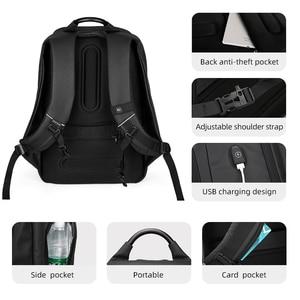 Image 4 - Mark Ryden Männer Rucksack Multifunktions USB Lade 15,6 inch Laptop Tasche Große Kapazität Wasserdichte Reisetaschen Für Männer