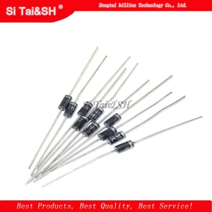 20pcs/lot Rectifier Diode 1N5408 1N5404 1N5401 1N5822 1N5818 UF5408 UF5402 6A10 10A10 DO-27
