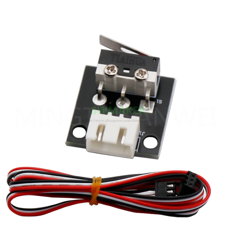 1 piece CR-10S mechanical limit switch, Ender-3S microswitch for CR-10 Ender -3 series 3D printer parts