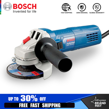BOSCH Angle Grinder Single Speed 110000 RPM Multi-functional Sanding Maching Electric Angle Grinder 220V 50Hz Cut-Off Tool edcgear carpenter s multi functional grinder plane blade silver