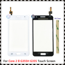 "4.5"" For Samsung Galaxy DUOS Core 2 II SM G355H G355H G355 G355M Touch Screen Digitizer Sensor Outer Glass Lens Panel"