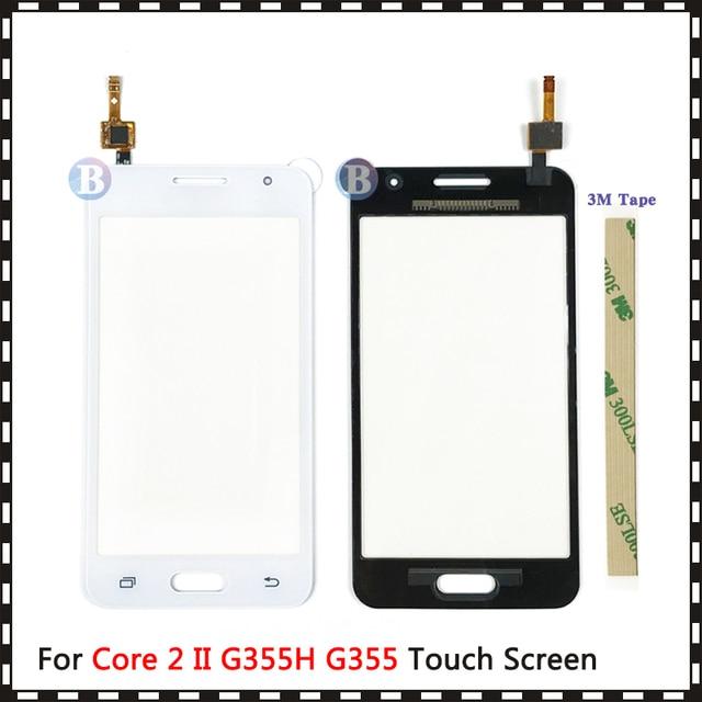 "4.5"" For Samsung Galaxy DUOS Core 2 II SM G355H G355H G355 G355M Touch Screen Digitizer Sensor Outer Glass Lens Panel"