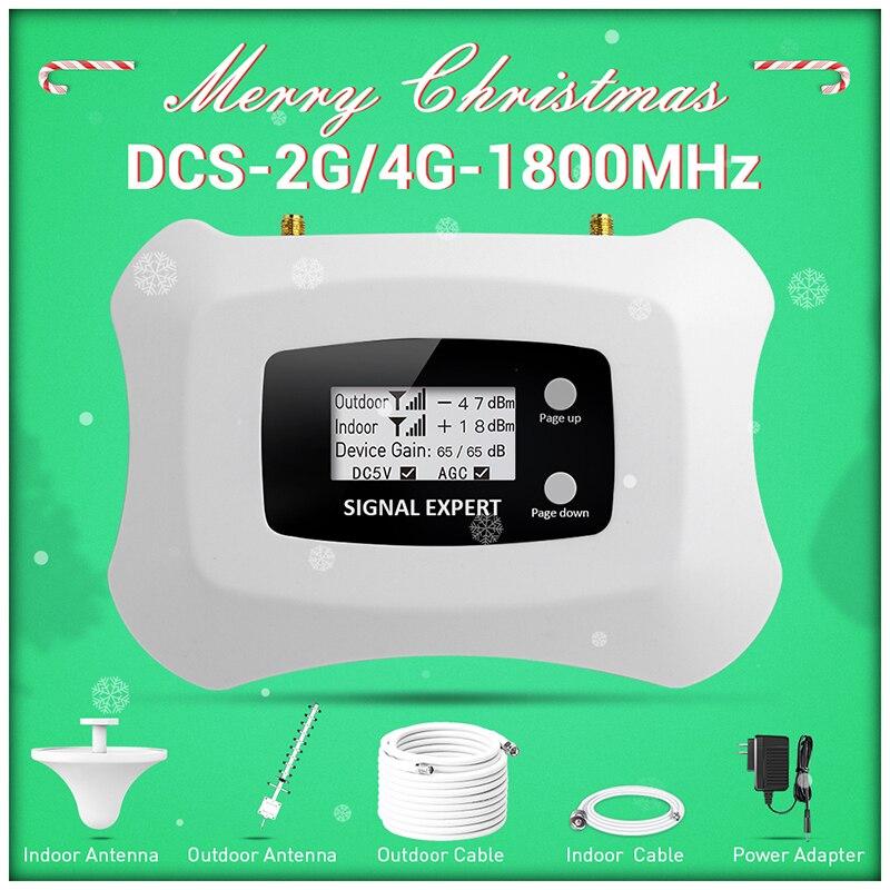 Распродажа для России, усилитель сотовой связи 4G 1800 МГц, Усилитель мобильного сигнала 2G 4G, комплект ретранслятора сигнала