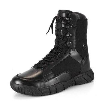 Botas t cticas militares para hombre calzado de nailon 1000D impermeable transpirable antideslizante a prueba