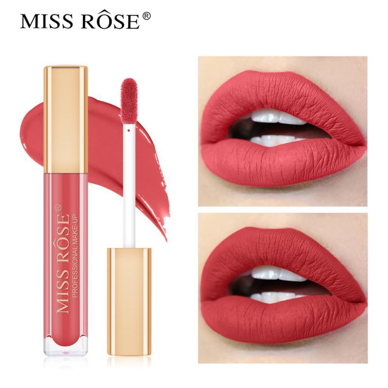 Телесный матовый бархатный глянцевый блеск для губ, помада, бальзам для губ, сексуальный красный оттенок для губ, 12 цветов, женский блеск для губ, макияж, помада для губ, TSLM1|Блеск для губ|   | АлиЭкспресс