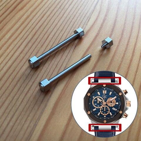 Barra de Orelha Tubo para gc Banda Haste Ligação Parafuso Gue ss X720 Relógio Kit