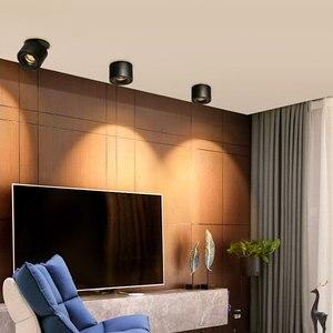 Image 5 - Luces empotrables de techo regulables, lámpara nórdica regulable de 10W, 12W, 15W, foco para punto de luz interior