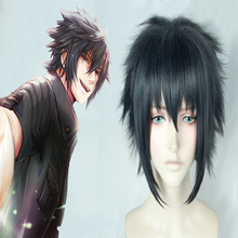 Game Final Fantasy Cosplay Wigs Noctis Lucis Caelum Cosplay Wig Heat Resistant Synthetic Wig Hair Halloween Party Cosplay Wig все цены