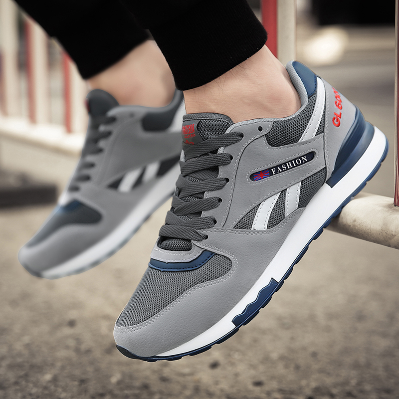 New Men Running Shoes 2020 Air Mesh Sneakers Breathable Sports Shoes Outdoor Male Walking Shoes Men Sapatilhas Homem Max Size 45