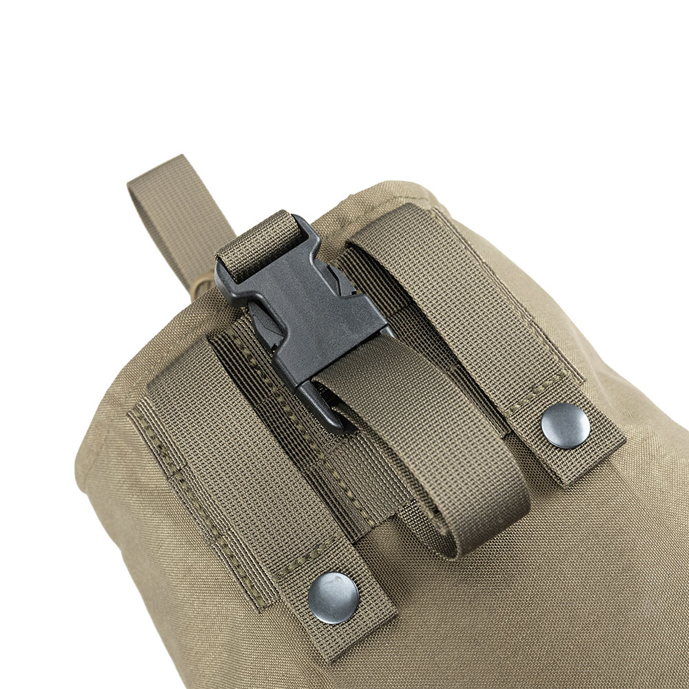Tactical Molle Recycle Pouch Portable Folding Recovery Storage Bag Outdoor Hunting Military Equipment