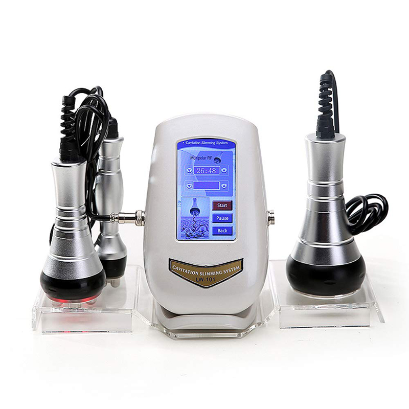 Ultrasonic 40K Cavitation Weight Loss Beauty Machine Body Slimming Facial RF Rejuvenation Skin Lifting Tighten Device Machine