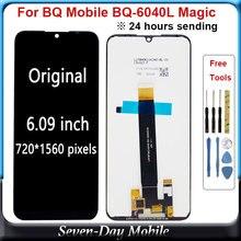 BQ 휴대 BQ 6040L 대 한 원래 LCD BQ 6040L 수리 부품에 대 한 매직 BQ6040L BQ 6040L LCD 디스플레이 터치 스크린 디지타이저 어셈블리