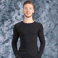 New High Quality Profession Men Ballroom Latin Dance Tops Short / Long Sleeved B