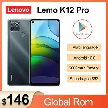 2020 New Lenovo Lemo K12 Pro 4G Mobile Phone 6.8inch Snapdragon662 Octa Core 6000mAh Big Battery 64.0 Rear Camera Smartphone 1