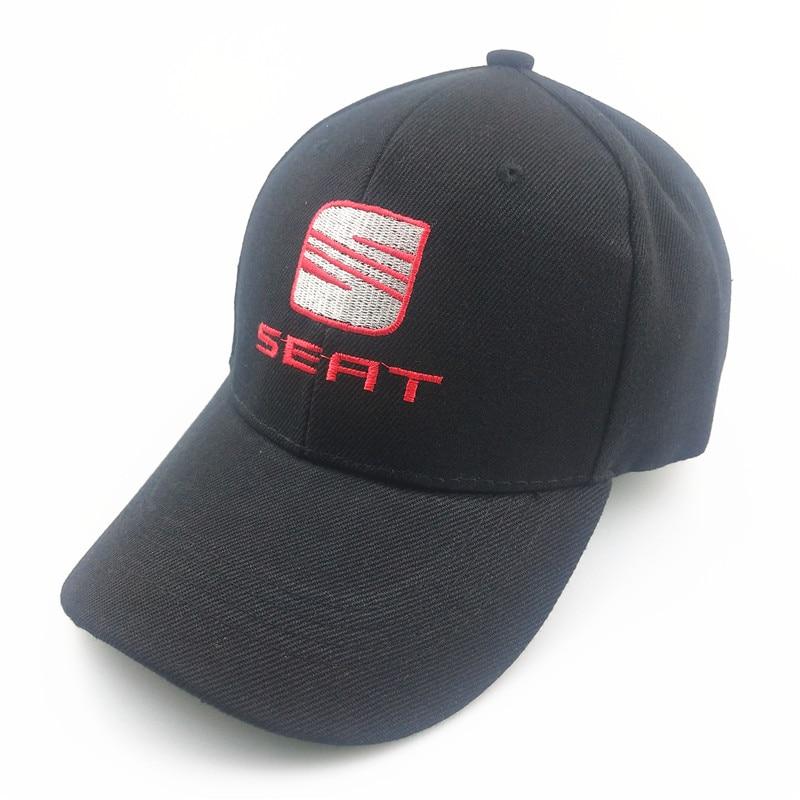 Unisex Fashion Cotton Car Logo Performance Baseball Cap Hat For Seat Leon Ibiza Altea Racing Motorcycle Car Styling Accessories