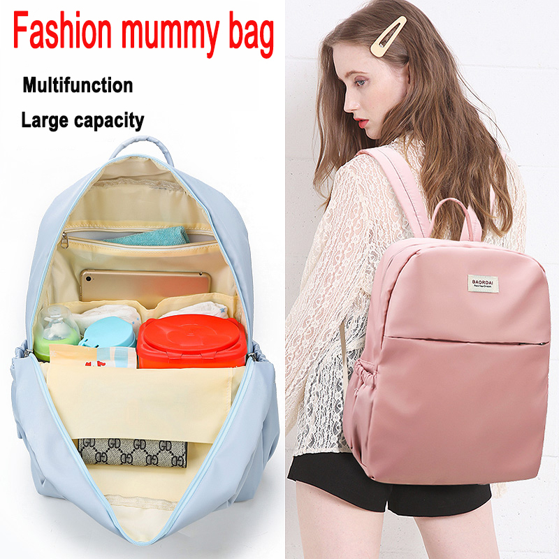 Fashion Baby Travel Stroller Diaper Bag For Mummy Maternity Nappy Bags Backpack For Moms Multifunction Mommy Changing Daiper Bag