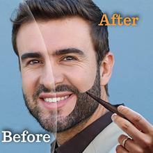 Men Fashion Beard Pen Beard Enhancer Waterproof Moustache Whiskers Pen Loss Tools Shaping Anti Styling Coloring Hair Y5S5