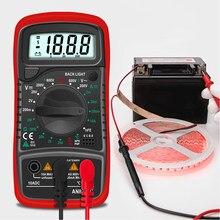 Aneng an8205c multímetro digital ac/dc amperímetro volt ohm tester medidor multimetro com termopar lcd backlight portátil tester