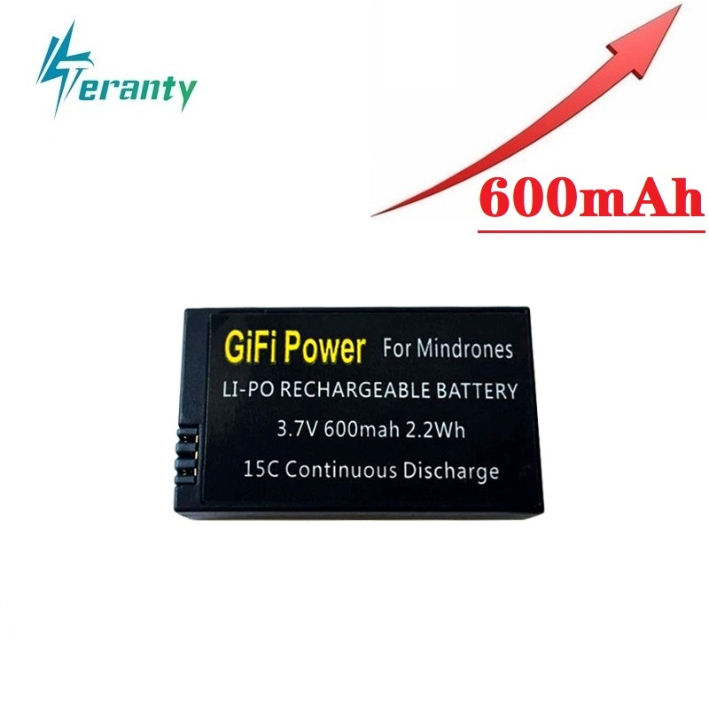 3.7V 600mah Replacement Lipo Battery Large Capacity Drones Battery For Parrot Mini Drones Mambo Jumping Sumo And Rolling Spider