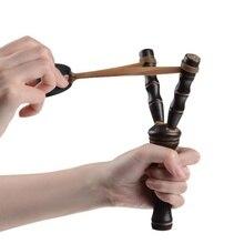 Бамбук Дерево Рогатка Открытый Стрельба Деревянный Охота Катапульта Лук Рогатка Праща Выстрел Игрушка +Забавный Открытый Стрельба +Стрельба из лука
