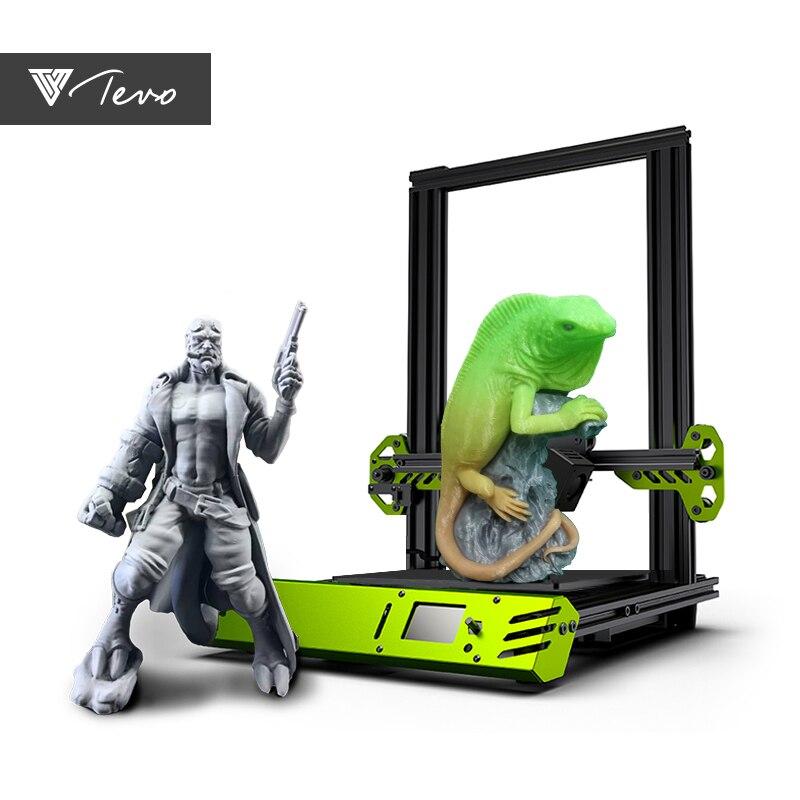 2019 новейший TEVO Тарантул Pro 3d принтер Impresora 3D DIY Impressora 3D Бесплатная доставка (в наличии)