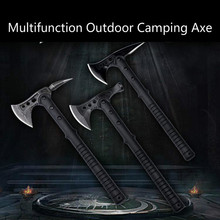 Stainless Steel Tactical Axe Tomahawk Army Outdoor Hunting Camping Survival Machete Axes Hand Tools Fire Axe Hatchet Axe/Ice Axe