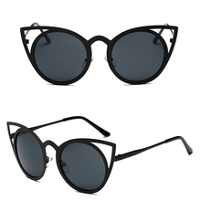 2017 Preety Women Cat Eye Sunglasses Classic Designer Oversized UV400 Eyewear Fashion Shades  MAY4_35