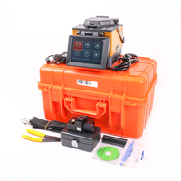 JILONG KL 300T FTTx Fusion Splicer fusion splicing machine with Fiber Cleaver with Cleaver