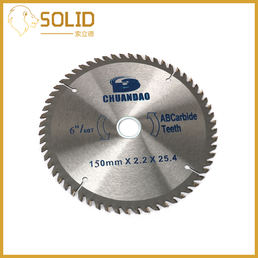 Carbide Circular Saw Blade 150X2.2X25.4mm Wood Cutting Disc For Rotation Electric Carpentry Tools 40/60T
