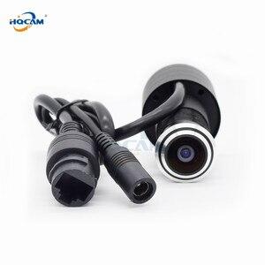 Image 1 - HQCAM karta sd tf WIFI wizjer otwór dom 1080P sieć Mini wizjer wifi drzwi IP kamera P2P 2.1mm obiektyw szerokokątny ICSEE xmeye