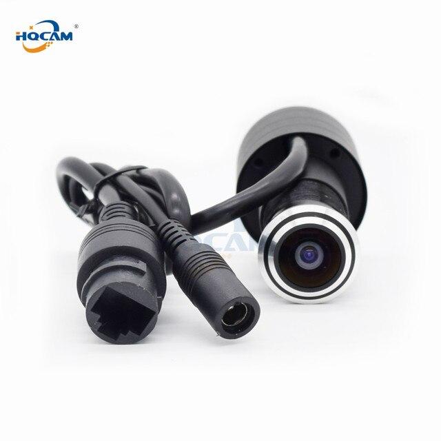 HQCAM karta sd tf WIFI wizjer otwór dom 1080P sieć Mini wizjer wifi drzwi IP kamera P2P 2.1mm obiektyw szerokokątny ICSEE xmeye