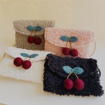 Christmas Kid Mini Coin Bag Cute Lamb Crossbody Bag for Baby Small Zero Wallet Pouch Little Girl Messenger Bag Gift 10PCS