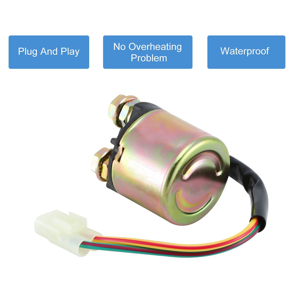 Starter Relay Solenoid For <font><b>Honda</b></font> Trx400 <font><b>Trx</b></font> <font><b>400</b></font> Fourtrax <font><b>Foreman</b></font> 1995-2003 Car And Motorcycle Accessories image