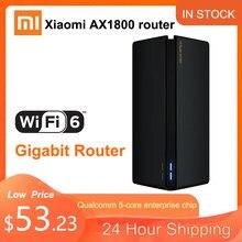 Nieuwe Router Xiaomi Ax1800 Qualcomm Vijf-Core Wifi6 Router 2,4G 5,0 Ghz Full Gigabit 5G Dual-frequentie Home Muur Doordringende Koning
