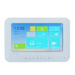 Hik Multi-language DS-KH1310-AL Touch Indoor Monitor,phone app P2P, IP doorbell monitor, Video Intercom monitor,build-in WiFi