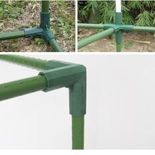 Plant Luifel Connector Pijler Fittings Plastic Staal Pijp Wijnstok Frame Kas Beugel Montage Aansluiten Onderdelen Tuingereedschap