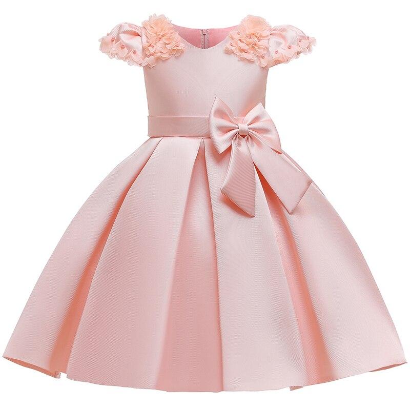 Girls Princess Anna Elsa Cosplay Costume Kid's Party Dress Dresses free shipping