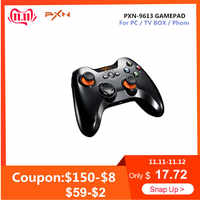 PXN PXN-9613 Gamepad Wireless Bluetooth Game Controller Portable Handle Bracket for PC Tablet Android Smartphone TV Box