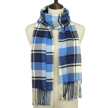 2019 winter men plaid scarf cashmere scarves for women echarpe foulard femme long wool pashmina sjaal shawls business - discount item  42% OFF Scarves & Wraps