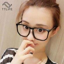 TTLIFE круглый в винтажном и ретро стиле дизайнерские Брендовые очки для женщин очки модные мужские Оптические очки с оправой плоское зеркало yjh0333