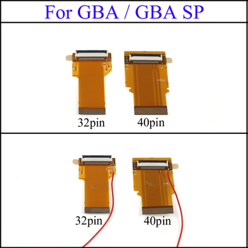 YuXi Replacement 32Pin 40 Pin For Gameboy Advance MOD LCD Backlight Cable Ribbon for GBA SP Backlit Screen Mod yuxi lcd screen protector protective film for gameboy advance color pocker for gba gba sp gbc gb gbp for gbm console