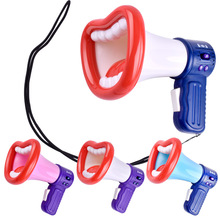 Voice-Changer-Horn-Toys Interactive-Game Plastic Kids Child for Loudspeaker Big Mouth